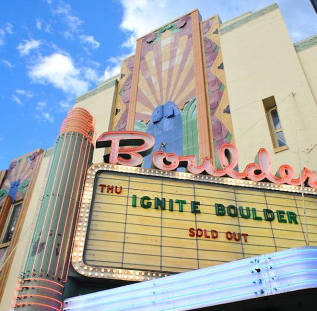 Ignite Boulder at the Boulder Theater
